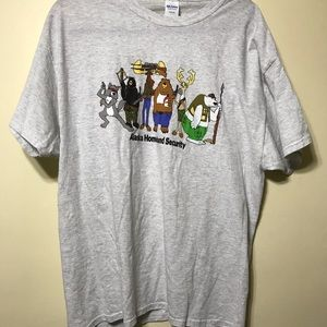 Xlg gray short sleeve shirt